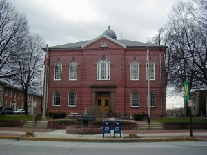 Harford County courthouse, Bel Air, MD