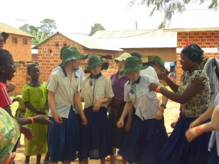 Students at Kabanga Protectorate Center (Tanzania), a Palmer Foundation grantee and refuge for children with albinism