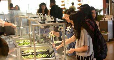 UMass dining hall